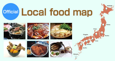 Local food map